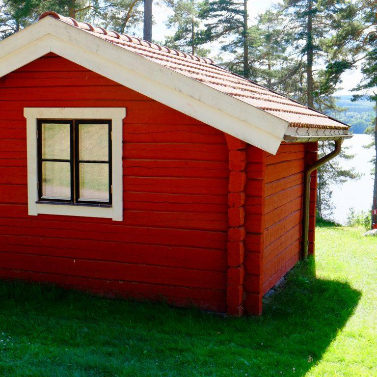 Leksand camping stuga