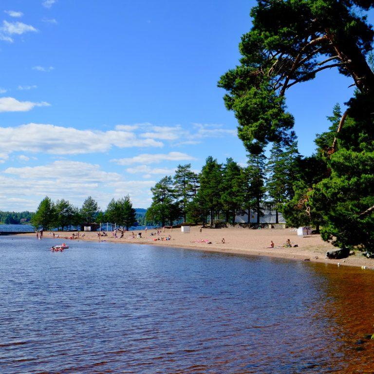 Leksand strand