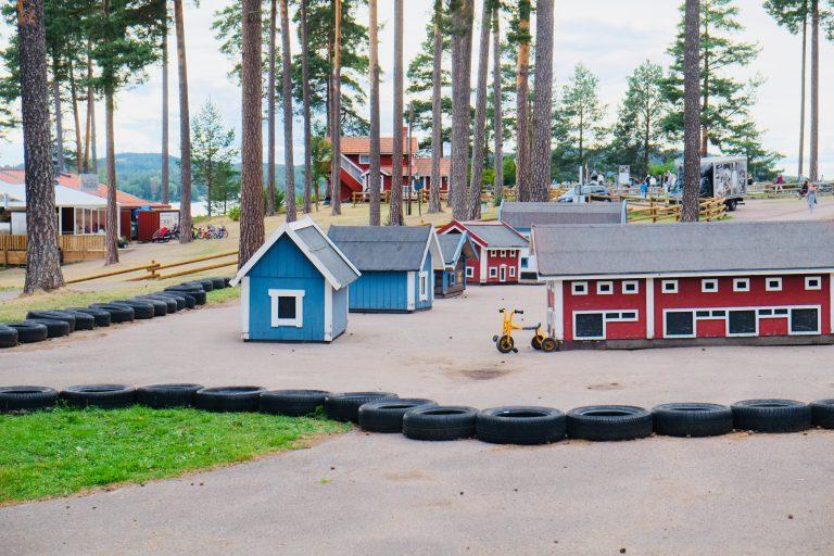 Leksand camping lekeplass