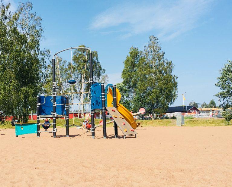 Lekeplass ved Mora Supercharger