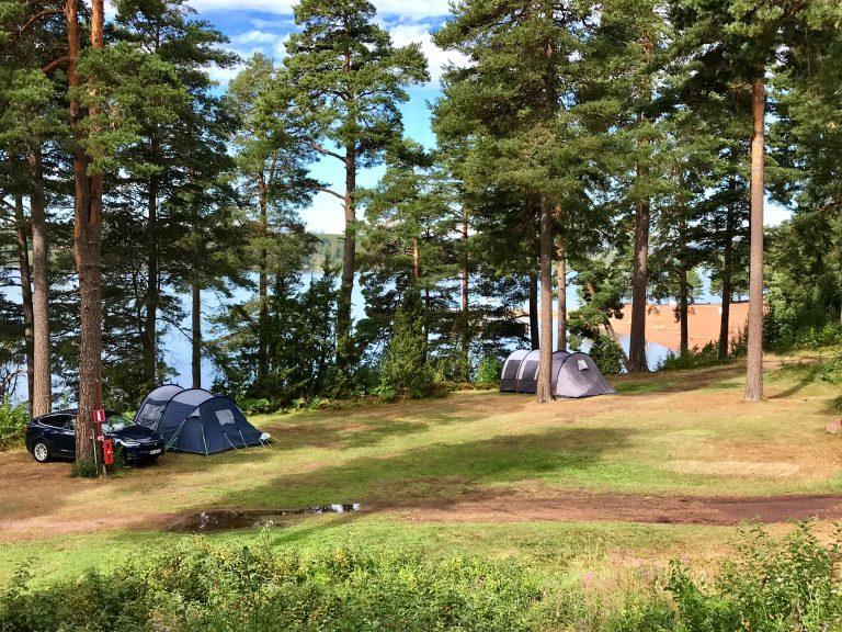 Leksand camping teltplass